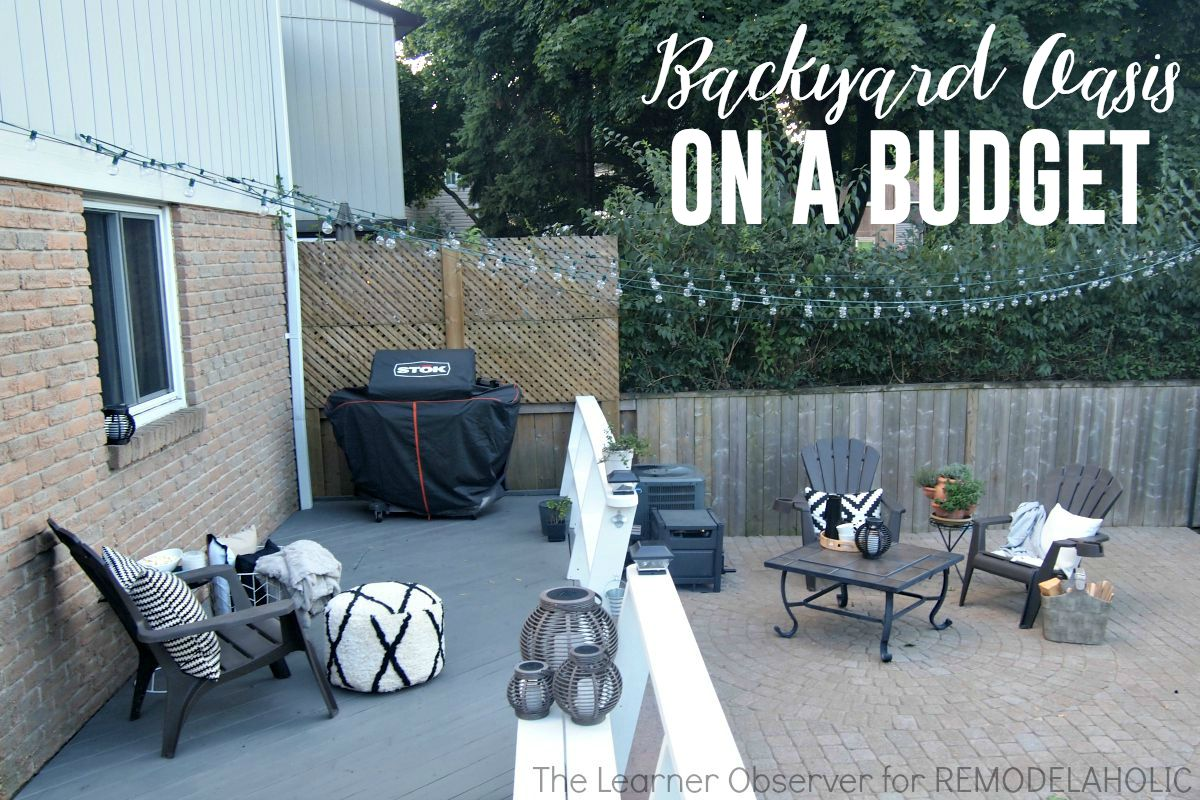 Remodelaholic | Transform your backyard into an oasis on a ...