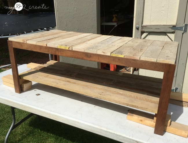 how to make a table out of wood