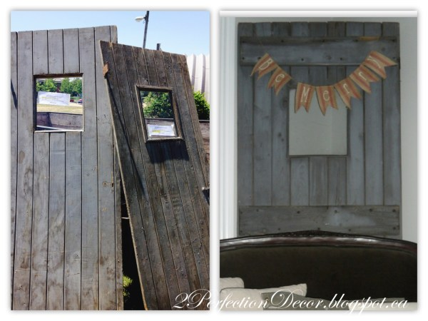 Using Reclaimed Wood for a Rustic Bar by 2Perfection Decor Blog featured on Remodelaholic