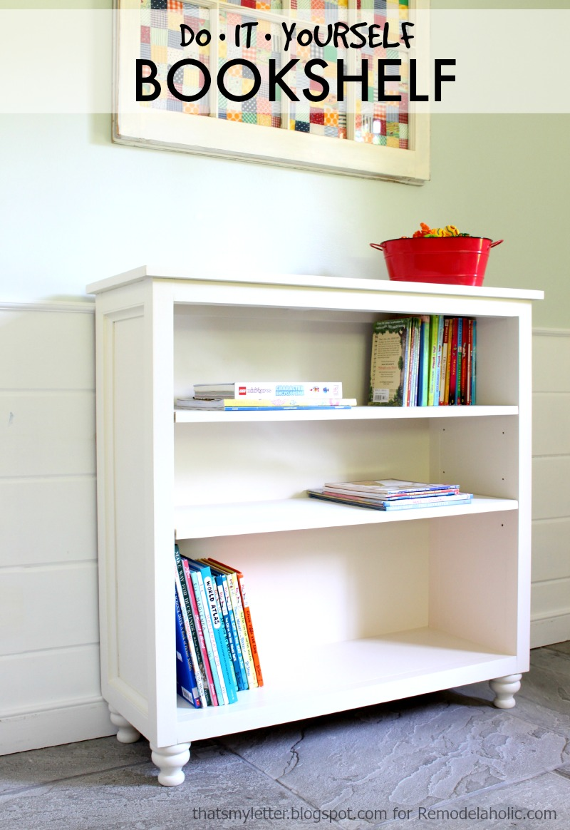 Build a Bookshelf with Adjustable Shelves