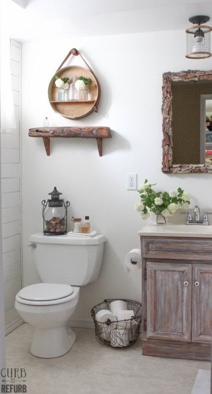curbtorefurb bathroom makeover