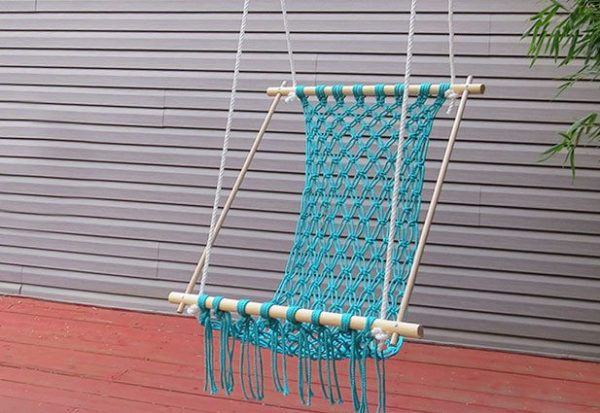 diy crocheted hammock