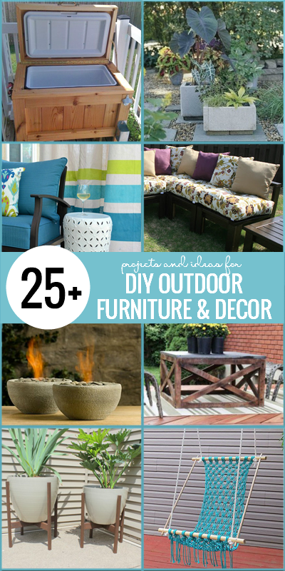 Diy Outdoor Furniture And Decor Projects On Remodelaholic