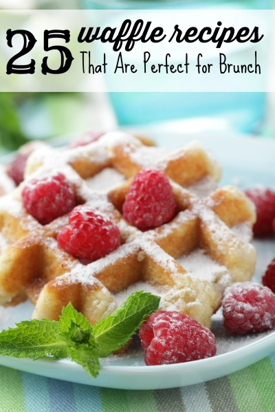 25 Waffle Recipes That Are Perfect For Brunch Via Tipsaholic.com