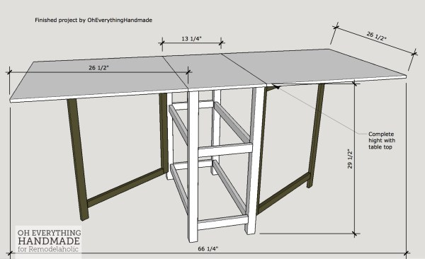 Folding Craft Table with Storage, Foldable Desk