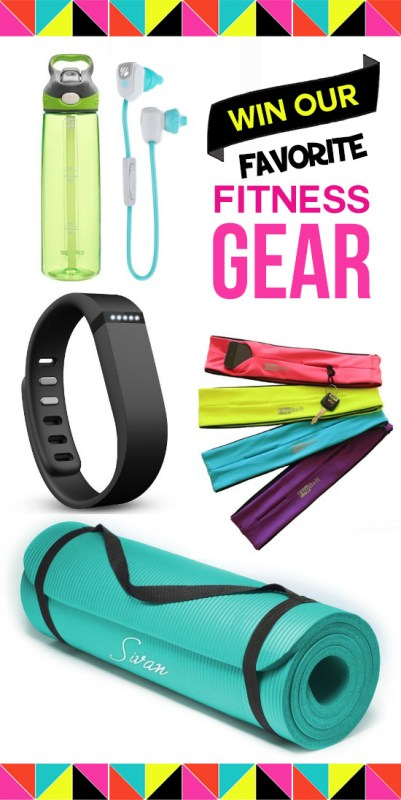 Enter to win the BEST fitness gear plus cute workout clothes