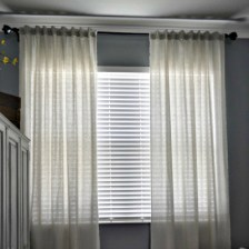 Square Linen Curtains