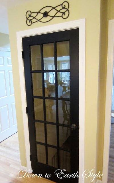 black french door (Down to Earth Style)