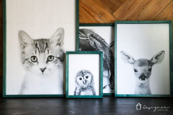Diy Large Wall Art Prints And Framing, Designer Trapped