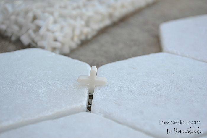 Remodelaholic | How to Tile a Bathroom Floor