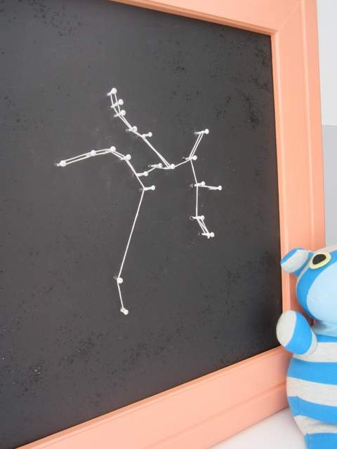 string art constellation (Decor Adventures via Pretty Handy Girl)