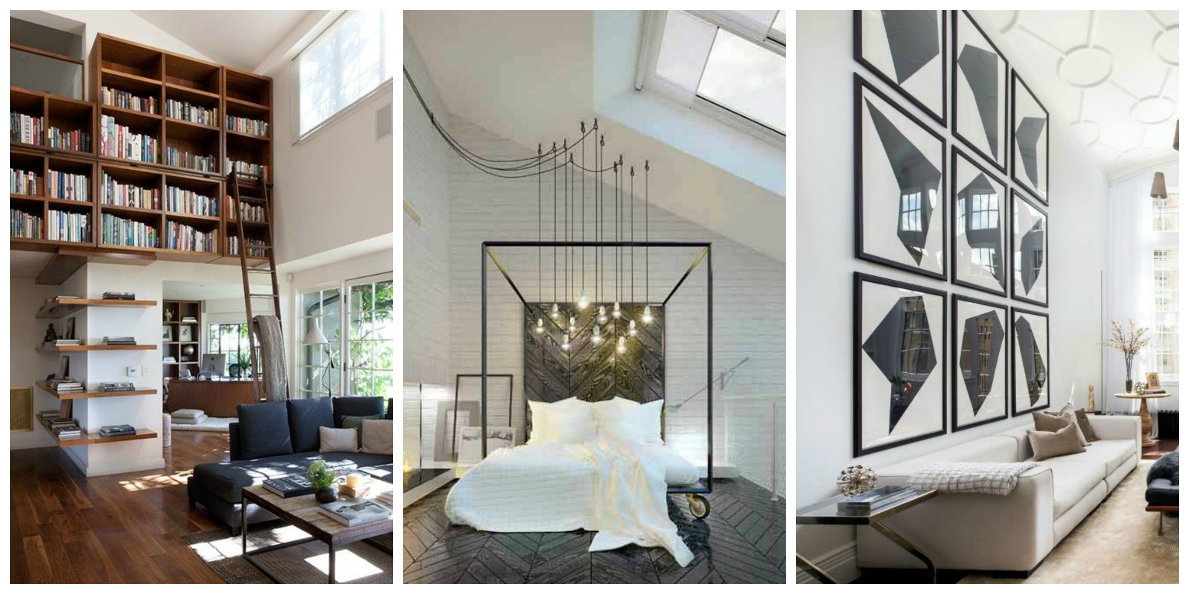 high ceiling living room decor ideas modern 2018 remodelaholic 24 on how to decorate tall walls