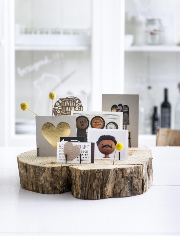 tree slice card or art print display (vtwonen)