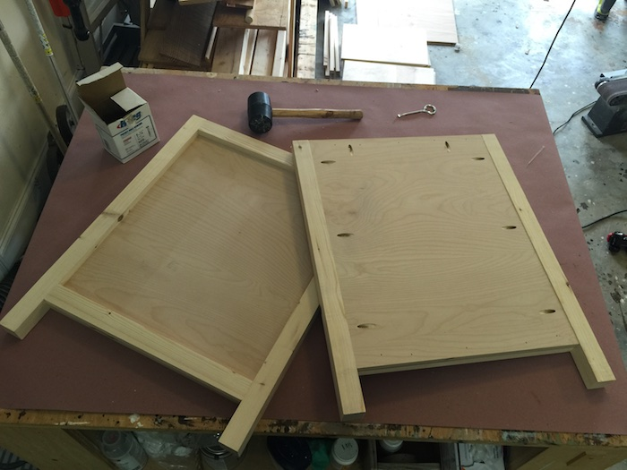 DIY Printmakers Media Console Plans - Step 3