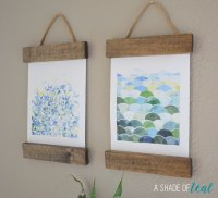 Remodelaholic | 6 Easy DIY Art Projects + August Link Party