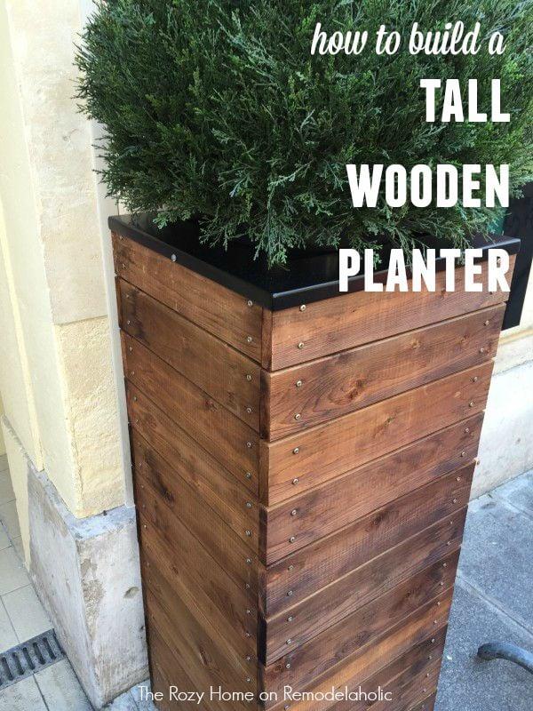 Tall Dutch Planters