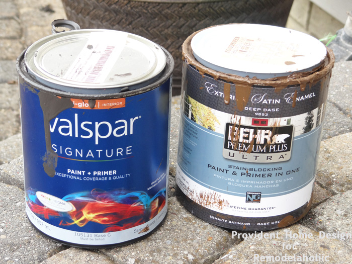 Paint for Faux Stain