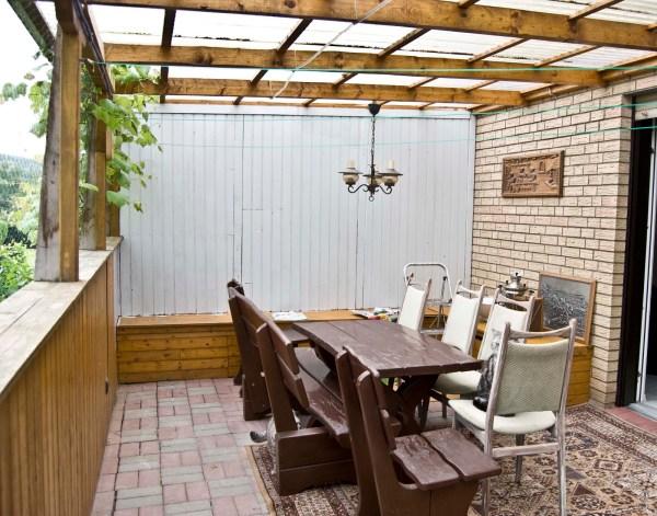Pudel Designs patio before