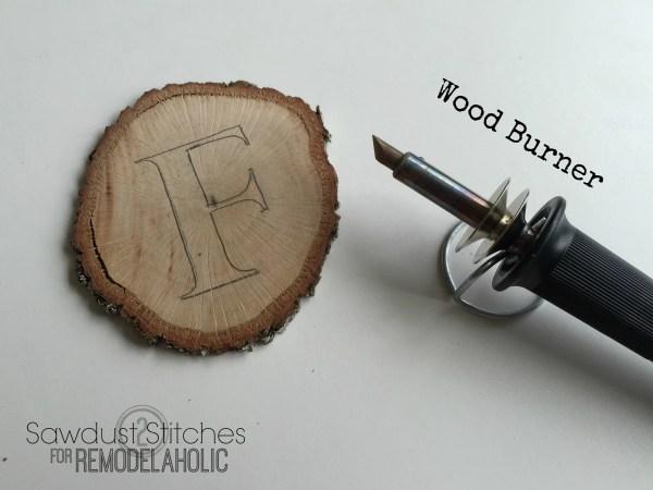 Wood Slice Garland www.remodelaholic.com