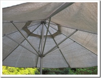 patio umbrella from dropcloth