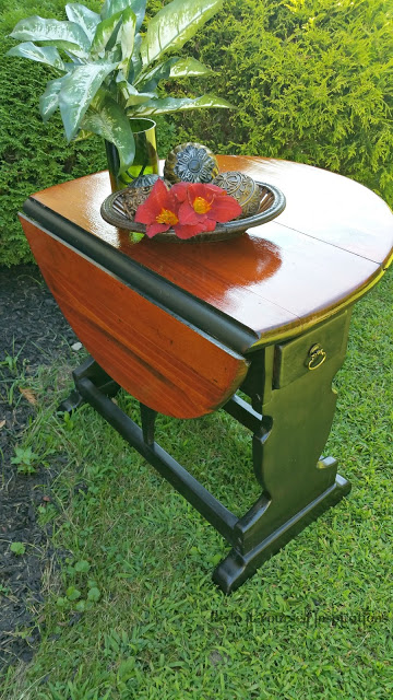 refinished drop leaf table RedoIt Yourself Inspirations