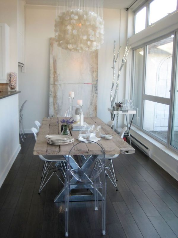 Remodelaholic   Decorating with Style ~ Rustic Glam