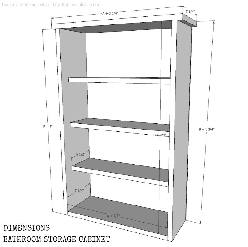 window cabinet dimensions AB