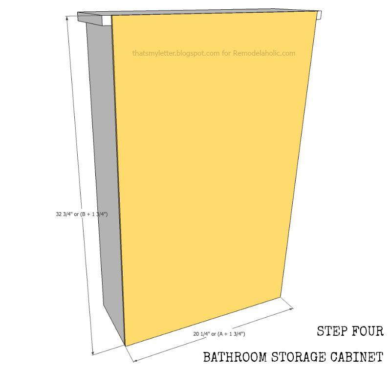 window cabinet step 4