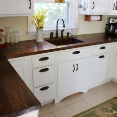 Wood Countertops Kitchen Salamander Charming And Classy Wooden If You Want The Dark Countertop