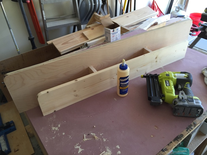 DIY Lindsay Desk - Step 3