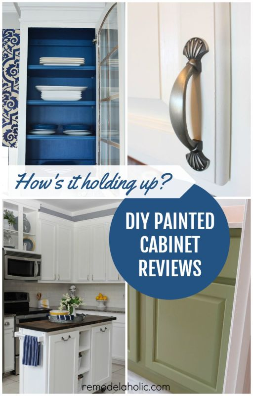 diy kitchen cabinet painting remodelaholic diy refinished and painted cabinet reviews 6827