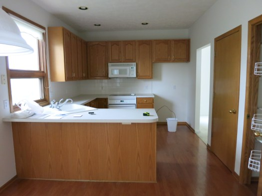 Lauren Painted Kitchen Cabinets Before