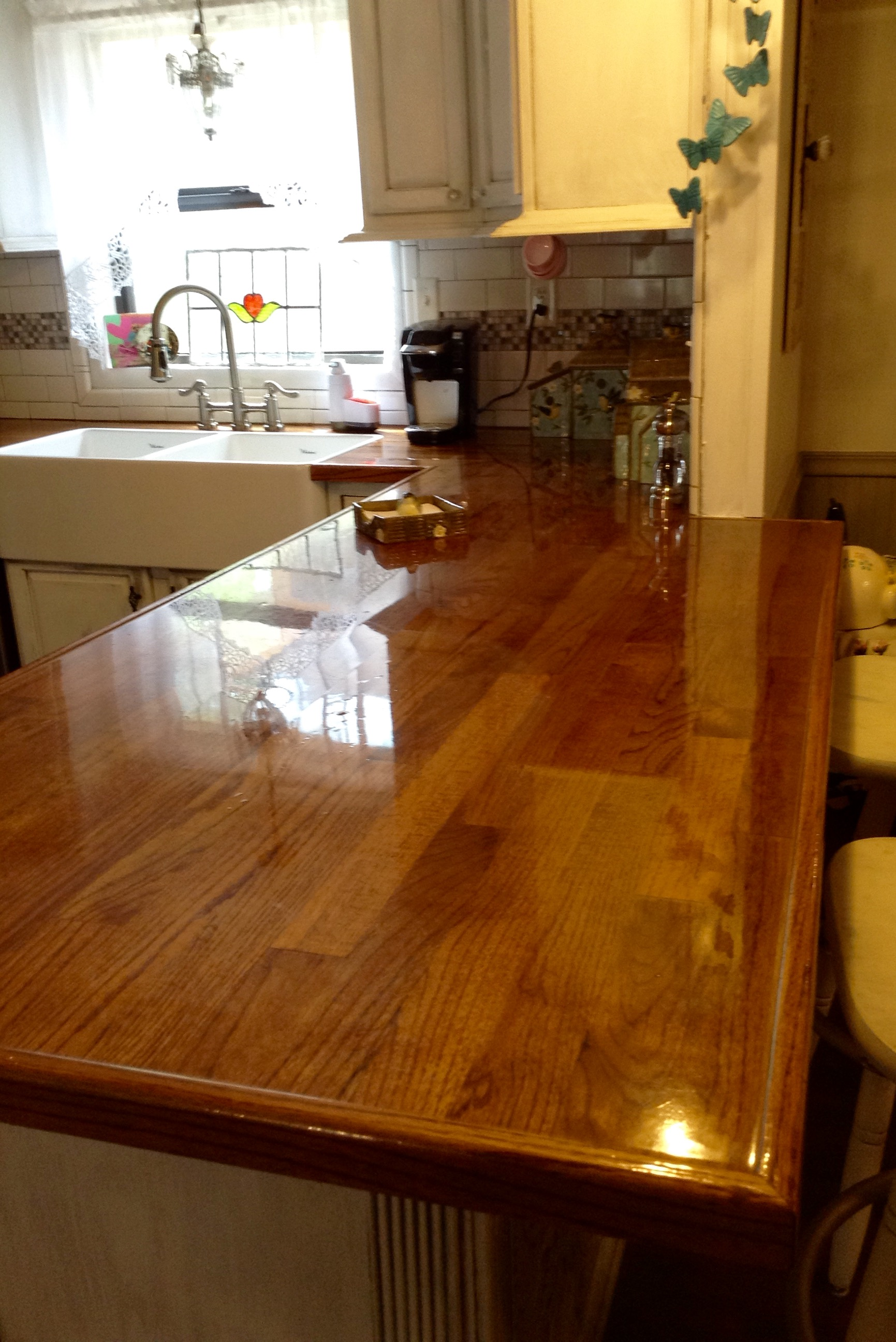 Remodelaholic Diy Butcher Block Wood Countertop Reviews