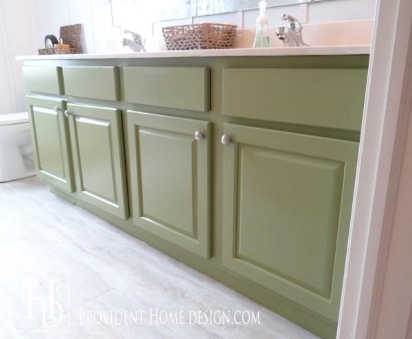 Tamara Provident Home Design DIY painted bathroom vanity review