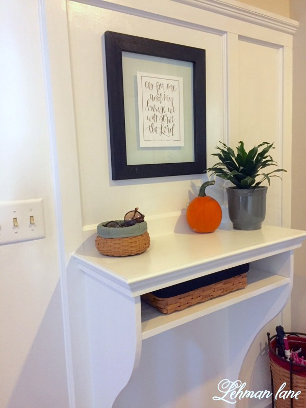 built-in entry table Lehman Lane