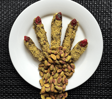 Pistachio Witches' Fingers