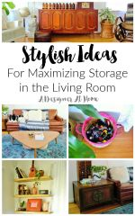 stylish ideas for maximizing storage in the living room- there's lots of great ideas for those with little kids!