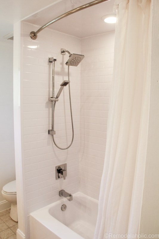 Bathroom shower tub refresh by Bath Fitters @remodelaholic (44 of 47)