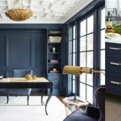 Kitchen Cabinets Knoxville Kart Remodelaholic   Color Spotlight: Benjamin Moore Hale Navy