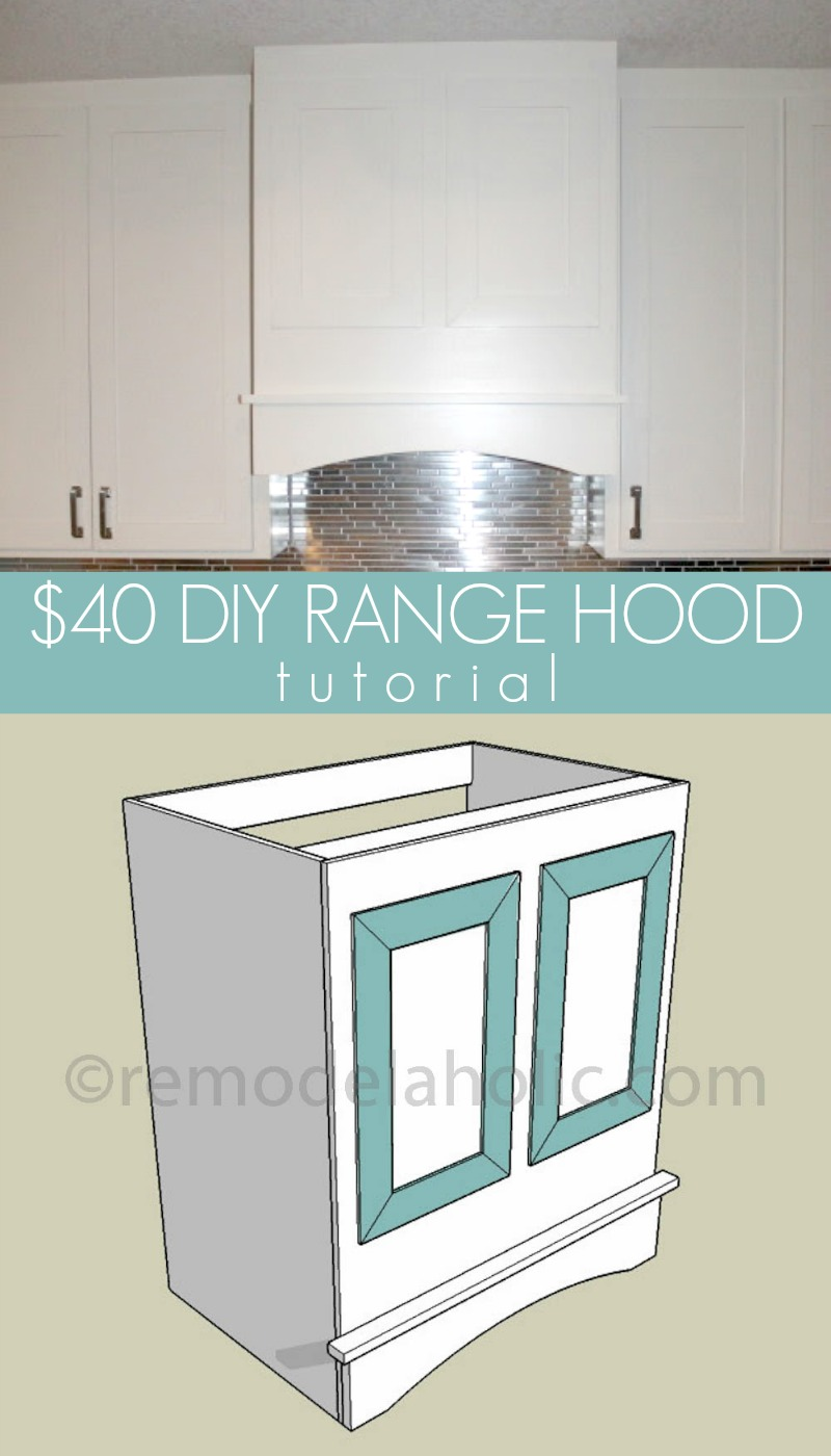 Remodelaholic | Kitchen Renovation and DIY Range Hood Tutorial