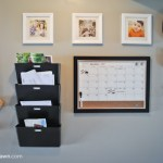 Inexpensive DIY Family Organization Station