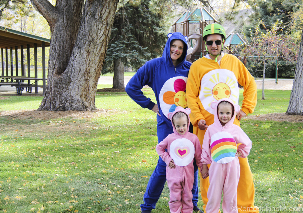 Family of Carebears Halloween costumes for families @remodelaholic (1 of 24)  sc 1 st  Remodelaholic & Family Care Bears Costumes
