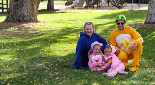Family of Carebears Halloween costumes for families @remodelaholic (6 of 24)