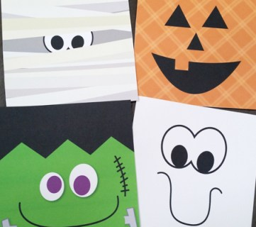 Quick and Easy Halloween Printable Set