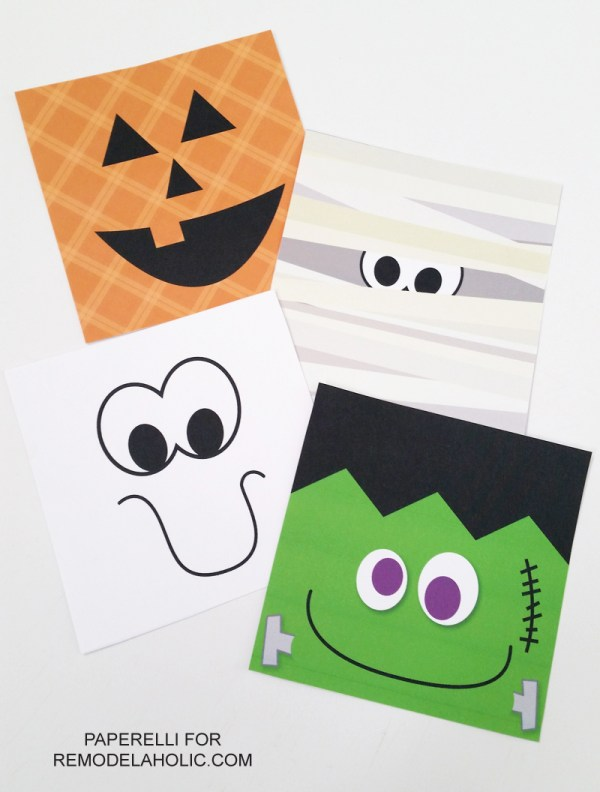 Freebie! Set of 4 Halloween Printables -- How cute will these be on my wall!