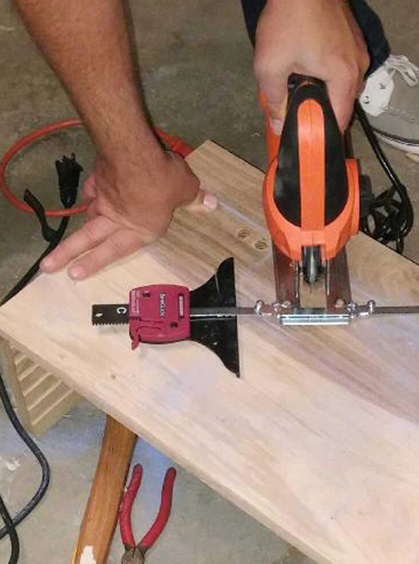 How to Use a Jig Saw to Build a Pet Feeder