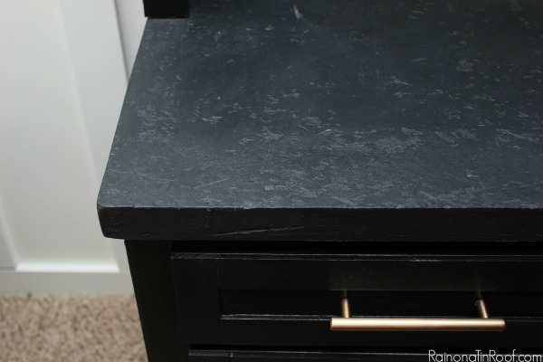 Jenna Rain on a Tin Roof diy faux stone countertop review