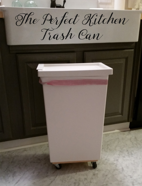 diy rolling trash can White Tulip Designs