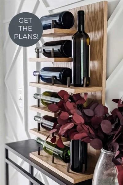 Diy Wine Rack Plans 12 80