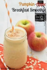 pumpkin apple breakfast smoothie